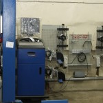 Лаборатория регулировки углов установки колес