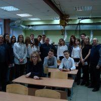 Ученики школы №54 в Ижевском политехническом колледже