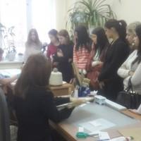 Студенты колледжа посетили Центральный государственный архив